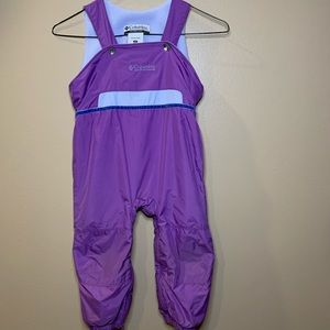 Columbia sport toddler 3T purple snow ski pants